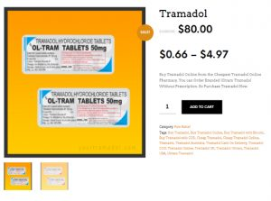 Place your Tramadol COD order