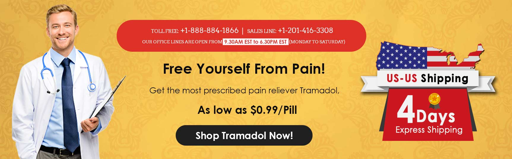 yourtramadol homepage banner